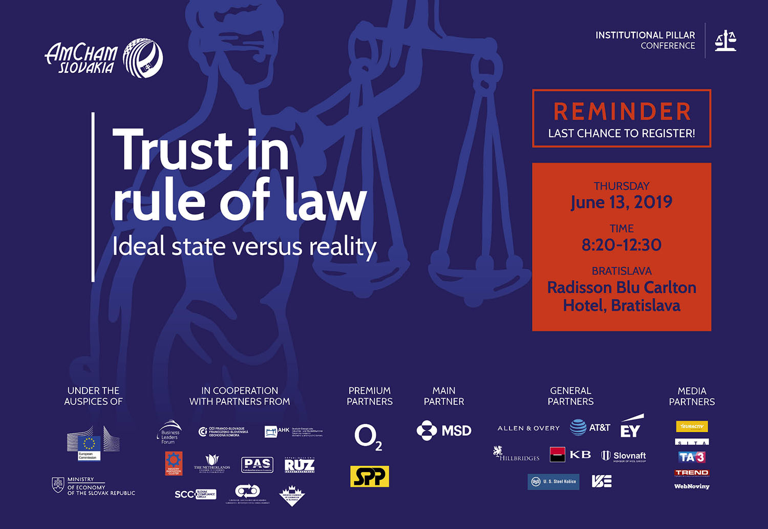 Conference Trust in Rule of Law