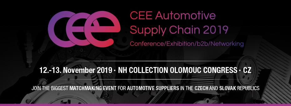 CEE Automotive Supply Chain 2019 - Olomouc CZ