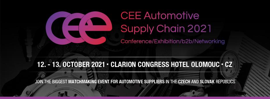 CEE Automotive Supply Chain 2021 - Olomouc CZ